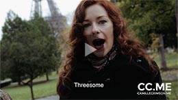 Camille Crimson in Threesome - Learn Dirty French with Camille