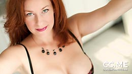 Camille Crimson in Sensual Lingerie Gift